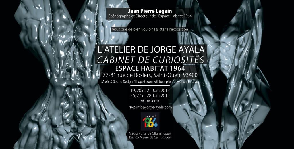 Jorge Ayala Espace Habitat 1964 Exposition (2)